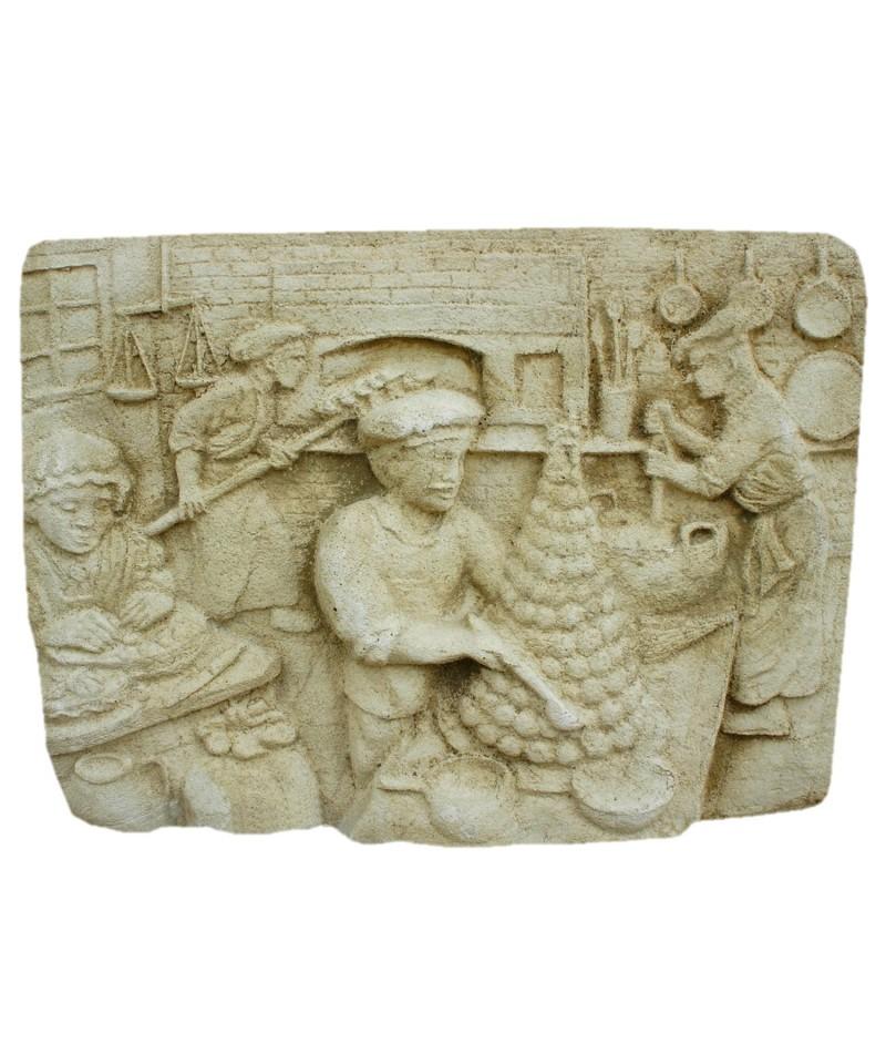Plaque Murale P Tissier Mat Riaux Collic