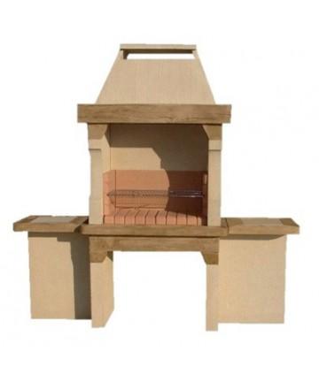 barbecue hacienda pierre reconstitu e mat riaux collic. Black Bedroom Furniture Sets. Home Design Ideas