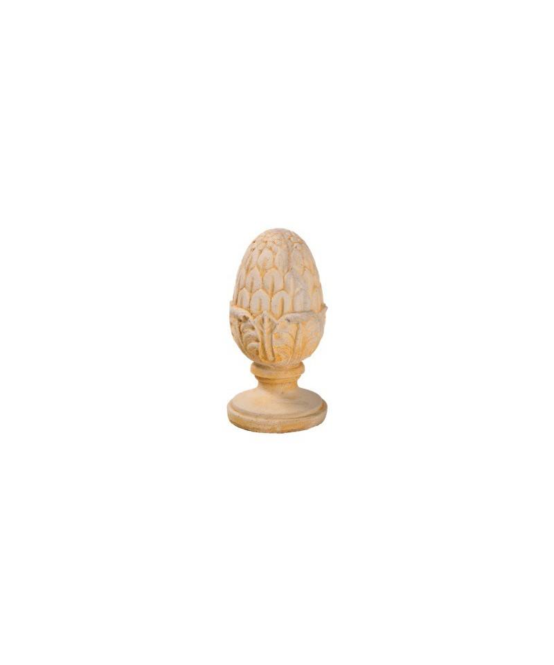 Pomme de pin d co pierre reconstitu e mat riaux collic - Pomme de pin deco ...