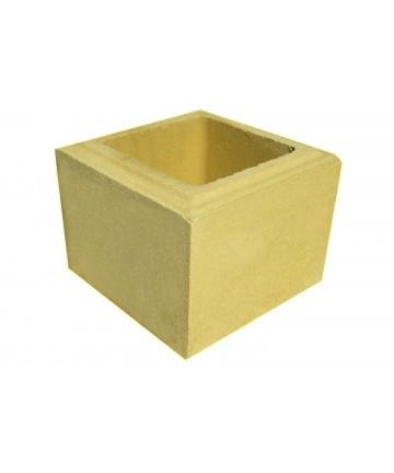 Cube balustre au détail Périgord