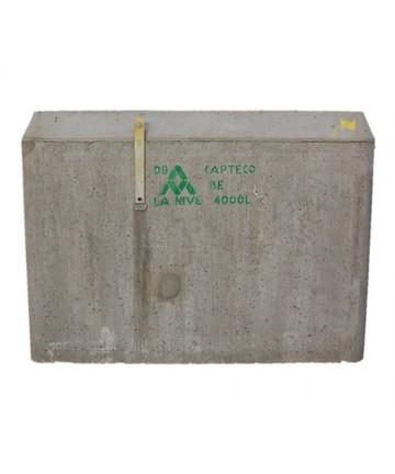 Fosse CAPTECO BEF avec filtre à jumeler récupérateur eau de pluie