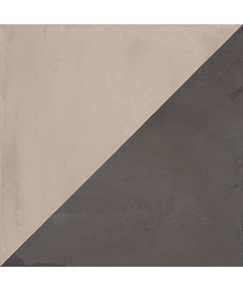 Carrelage imitation carreaux de ciment carr s gris for Carrelage gris anthracite