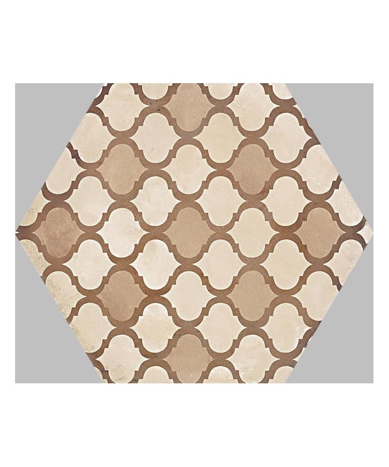 carrelage imitation carreaux de ciment en hexagone de la. Black Bedroom Furniture Sets. Home Design Ideas