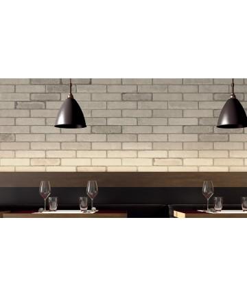 Carrelage Bricklane brique blanc