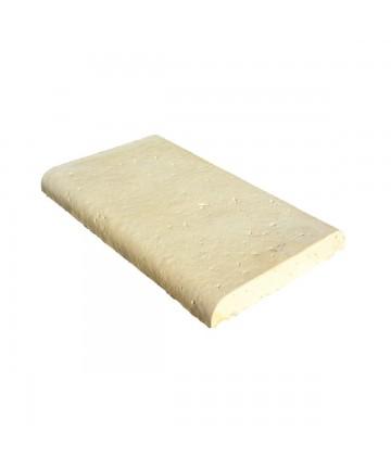 Dessus de mur 50x30x5 plat Quercy sable
