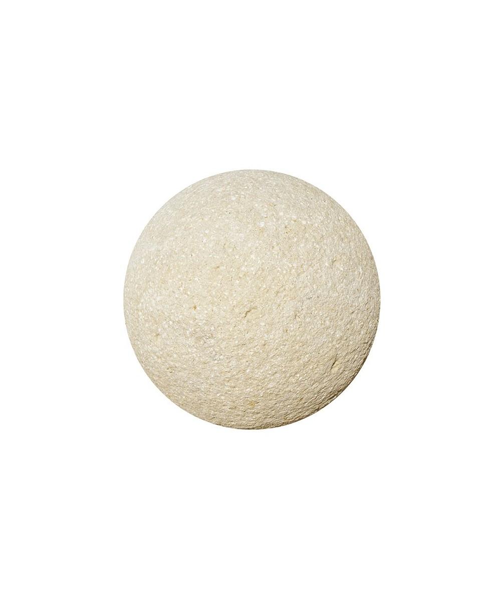 Boule décorative en pierre reconstituée