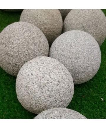 Boule décorative en pierre naturelle | Collic Matériaux - Matériaux ...