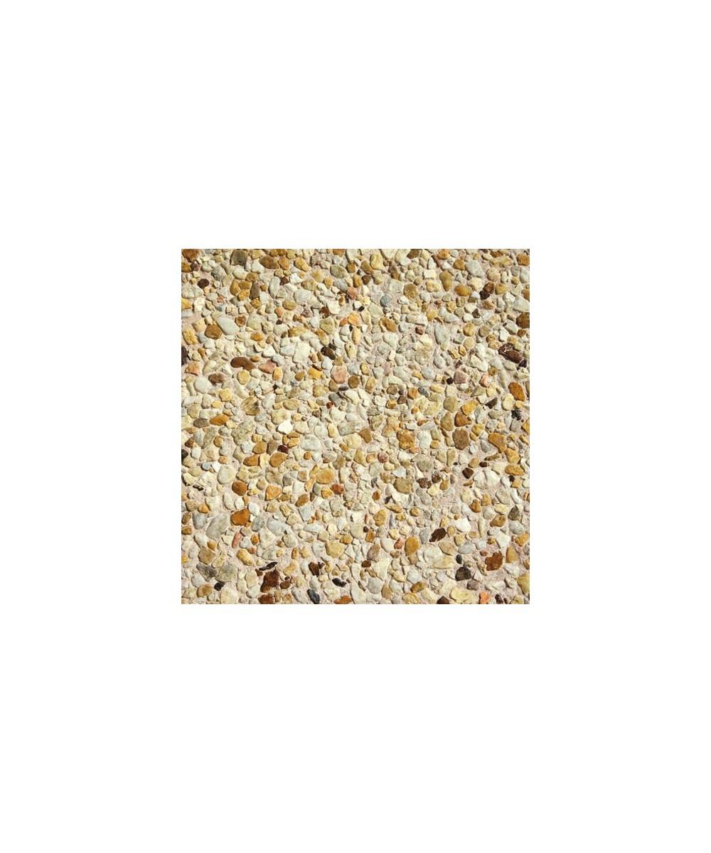 Dalle de terrasse gravillonnée gros grain | Collic Matériaux