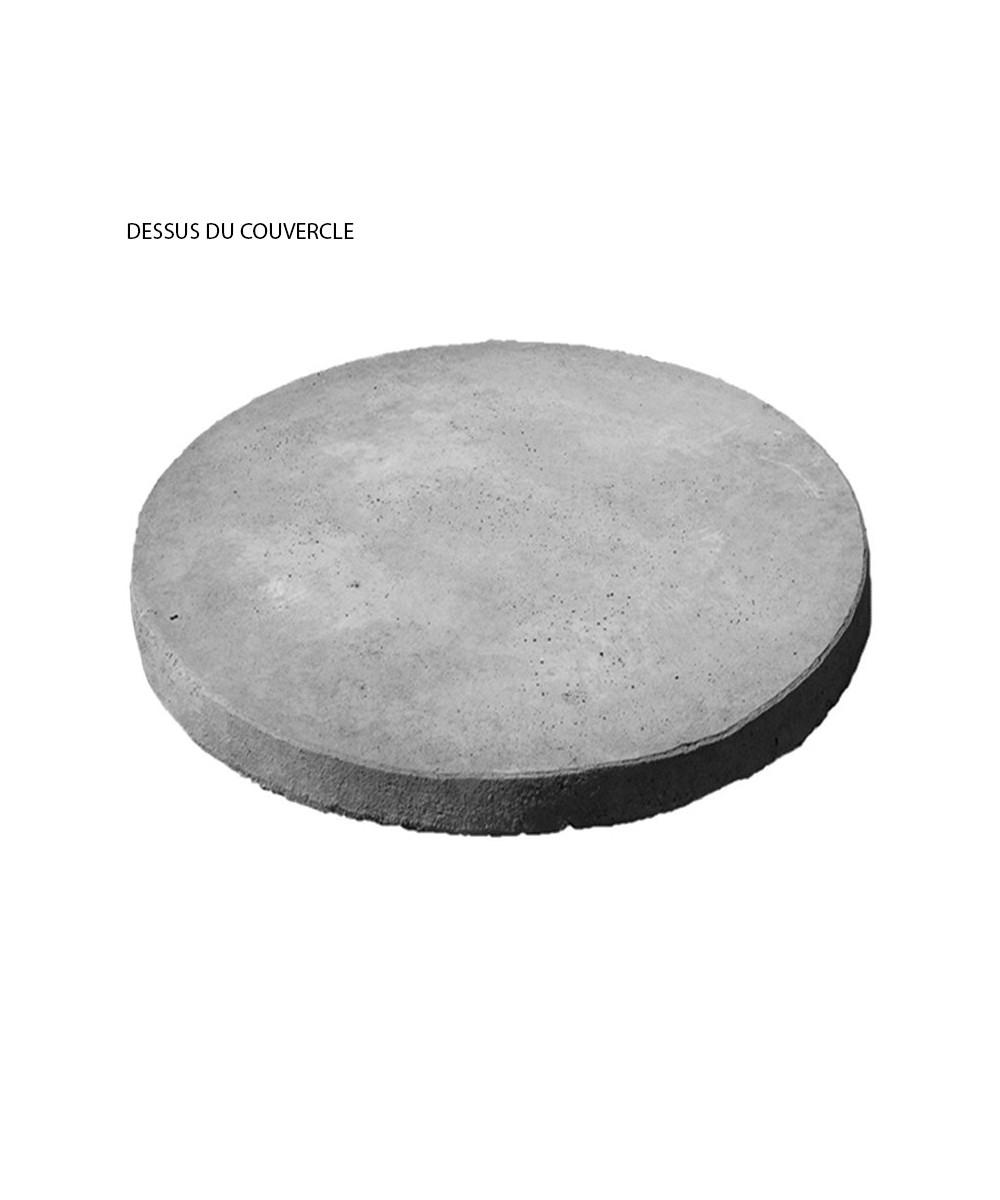 couvercle de fosse septique en b ton sans trappe. Black Bedroom Furniture Sets. Home Design Ideas